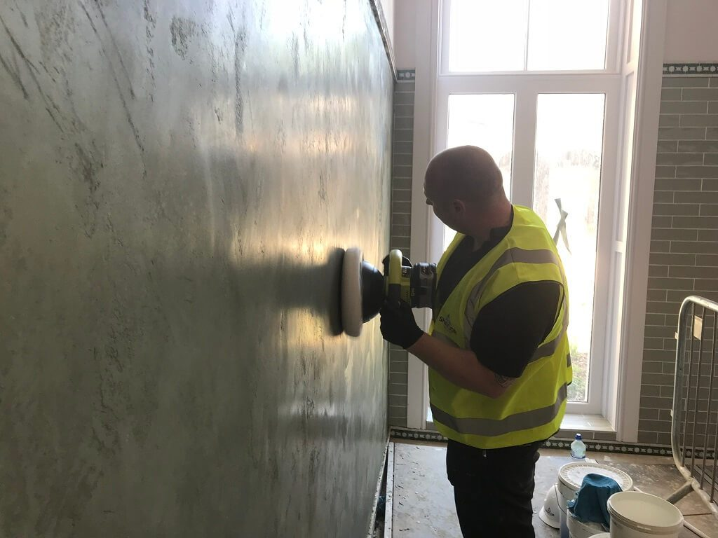 workingonwall 1024x768 - Plasterers & Plastering Tonbridge, Tunbridge Wells, Sevenoaks & Maidstone