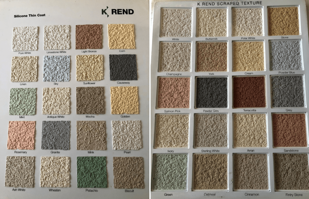 krendcolourchart 1024x660 - Property Rendering, K Rend Plaster, Thin Coat Plastering Maidstone, Sevenoaks, Tonbridge, Tunbridge Wells, London